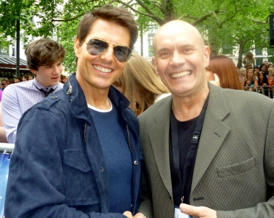 Phil Spalding and Tom Cruise